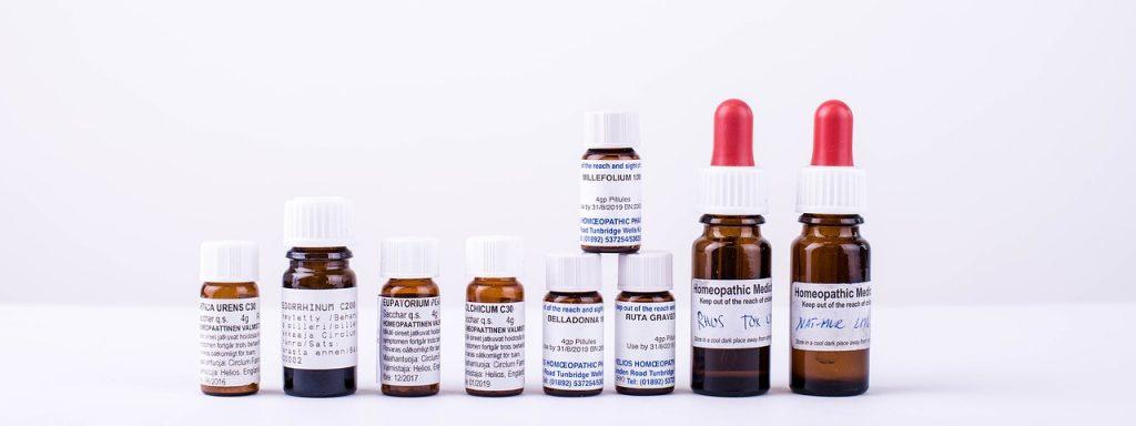 homeopatické léky